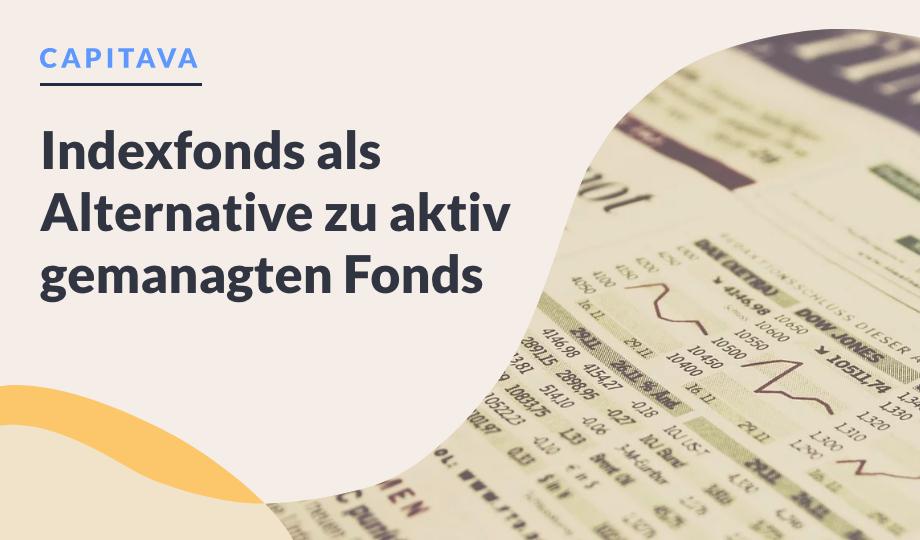 Indexfonds als Alternative zu aktiv gemanagten Fonds image
