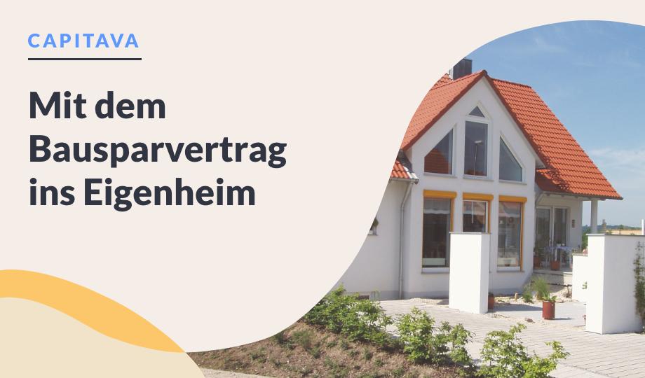 Mit dem Bausparvertrag ins Eigenheim image