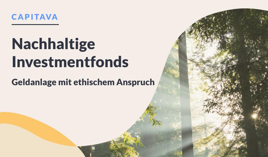 Nachhaltige Investmentfonds – Geldanlage mit ethischem Anspruch image