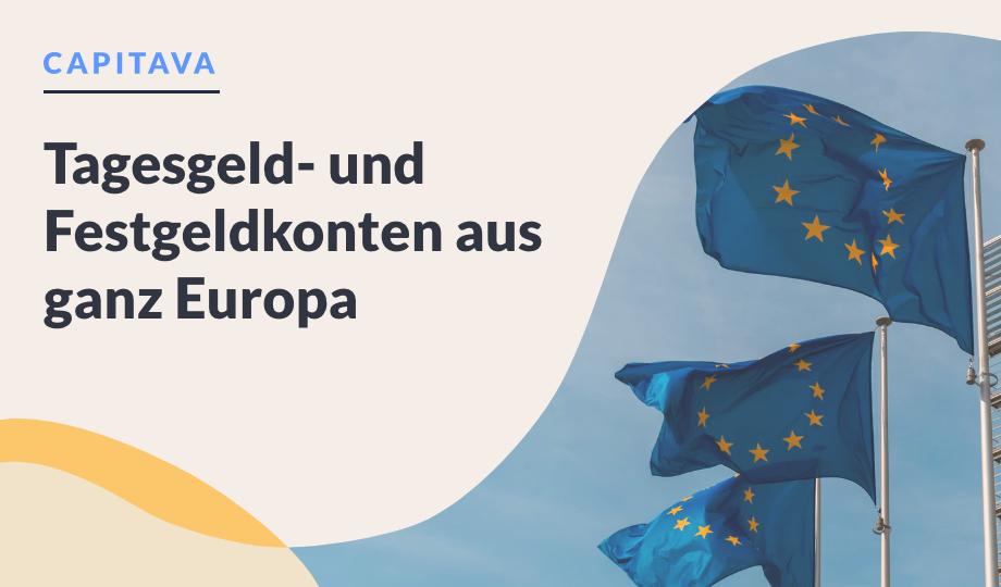 Tagesgeld- und Festgeldkonten aus ganz Europa image